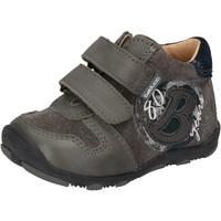 Schoenen Jongens Lage sneakers Balducci sneakers grigio camoscio pelle AD594 Grigio