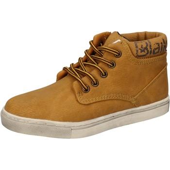 Schoenen Jongens Hoge sneakers Blaike sneakers giallo pelle AD702 Giallo