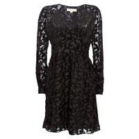 Textiel Dames Korte jurken MICHAEL Michael Kors RAGLAN SLV SHORT DRS Zwart
