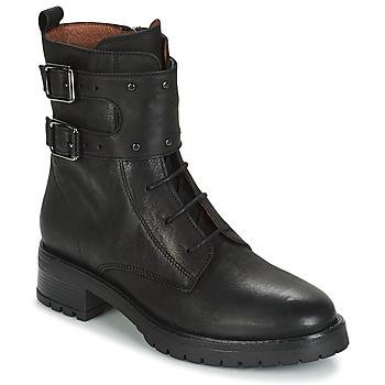 Schoenen Dames Laarzen Ikks REGNAUT Zwart