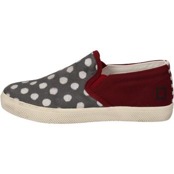 Schoenen Meisjes Instappers Date AD841 Bordeaux