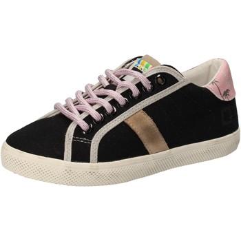 Schoenen Meisjes Lage sneakers Date AD859 Noir