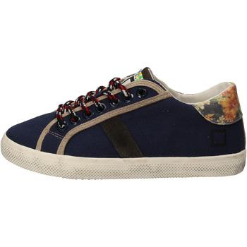 Schoenen Meisjes Lage sneakers Date AD862 Bleu