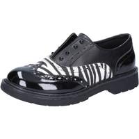 Schoenen Meisjes Lage sneakers Enrico Coveri Classique AD964 Noir