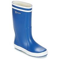 Schoenen Kinderen Regenlaarzen Aigle LOLLY POP Blauw