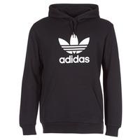 Textiel Heren Sweaters / Sweatshirts adidas Originals TREFOIL HOODIE Zwart