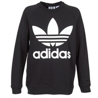 Textiel Dames Sweaters / Sweatshirts adidas Originals OVERSIZED SWEAT Zwart