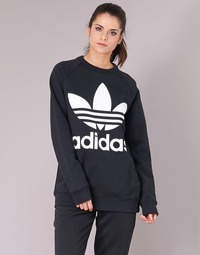 Textiel Dames Sweaters / Sweatshirts adidas Originals OVERSIZED SWEAT Zwart