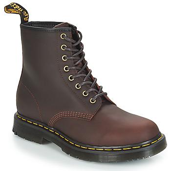 Schoenen Heren Laarzen Dr Martens 1460 SNOWPLOW Brown