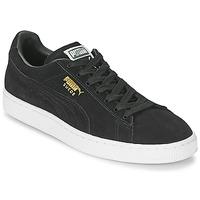 Schoenen Heren Lage sneakers Puma SUEDE CLASSIC Zwart