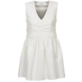 Textiel Dames Korte jurken Suncoo CAGLIARI Wit