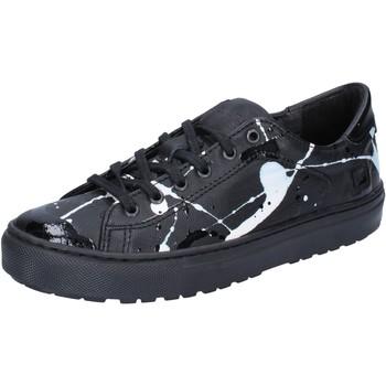 Schoenen Dames Lage sneakers Date Baskets AB561 Noir