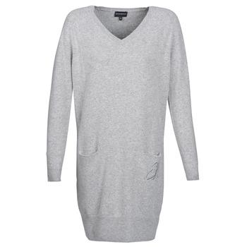 Textiel Dames Korte jurken Emporio Armani CROWA Grijs