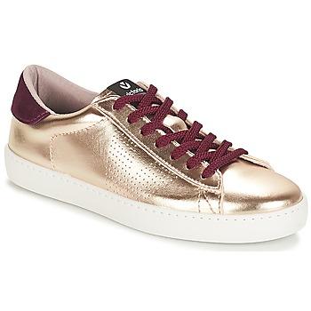 Schoenen Dames Lage sneakers Victoria DEPORTIVO METALIZADO Goud