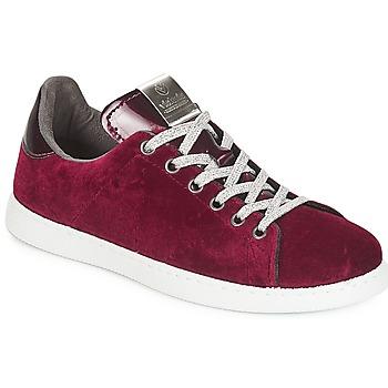 Schoenen Dames Lage sneakers Victoria DEPORTIVO TERCIOPELO Bordeaux