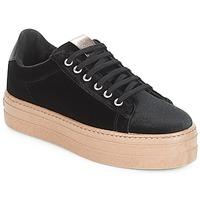 Schoenen Dames Lage sneakers Victoria DEPORTIVO TERCIOPELO/CARAM Zwart