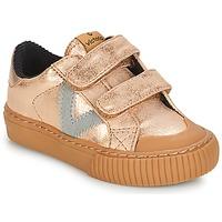 Schoenen Meisjes Lage sneakers Victoria DEPORTIVO VELCRO METALIZAD Roze