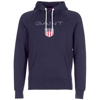 Textiel Heren Sweaters / Sweatshirts Gant GANT SHIELD SWEAT HOODIE Marine