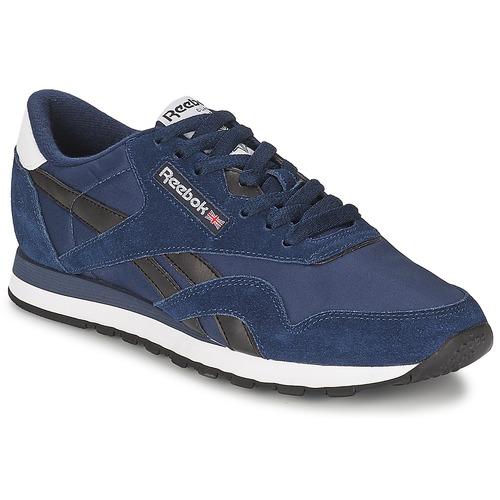 Schoenen Heren Lage sneakers Reebok Classic CL NYLON R13 Marine