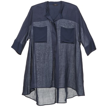 Textiel Dames Tops / Blousjes Joseph HEATHER Marine
