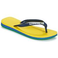 Schoenen Slippers Havaianas BRASIL LAYERS Geel