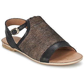 Schoenen Dames Sandalen / Open schoenen Coqueterra CRAFT Zwart