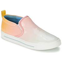 Schoenen Dames Instappers Marc by Marc Jacobs CUTE KICKS Multikleuren