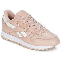 Schoenen Dames Lage sneakers Reebok Classic CLASSIC LEATHER Roze / Wit