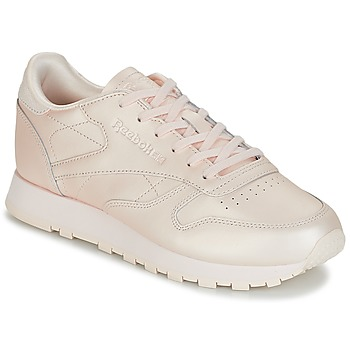 Schoenen Dames Lage sneakers Reebok Classic CLASSIC LEATHER Roze