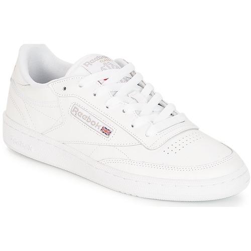 Schoenen Dames Lage sneakers Reebok Classic CLUB C 85 Wit