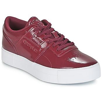 Schoenen Dames Lage sneakers Reebok Classic WORKOUT LO FVS Bordeaux