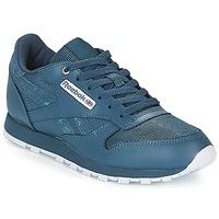 Schoenen Kinderen Lage sneakers Reebok Classic CLASSIC LEATHER J Marine