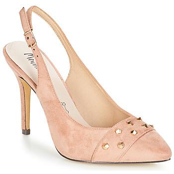 Schoenen Dames Sandalen / Open schoenen Menbur DINITARSA Beige / Roze