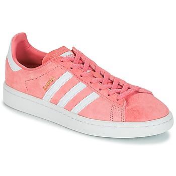 Schoenen Dames Lage sneakers adidas Originals CAMPUS W Roze