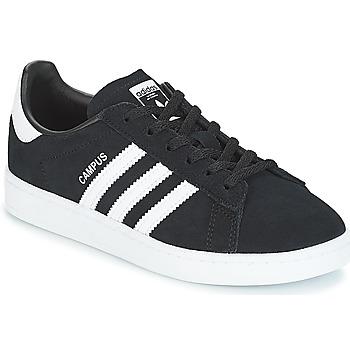 Schoenen Kinderen Lage sneakers adidas Originals CAMPUS C Zwart