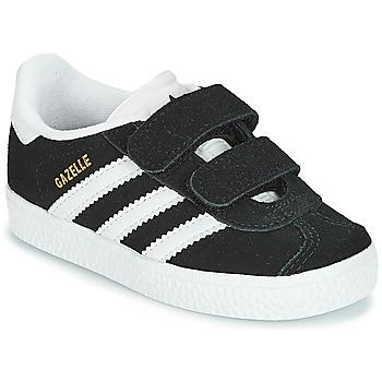 Schoenen Kinderen Lage sneakers adidas Originals GAZELLE CF I Zwart