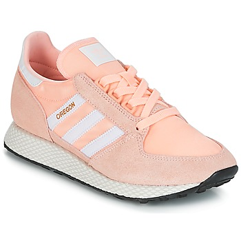 Schoenen Dames Lage sneakers adidas Originals OREGON W Roze