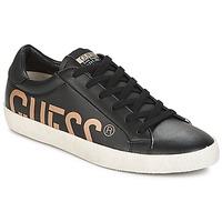 Schoenen Heren Lage sneakers Guess RYAN Zwart