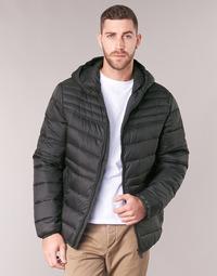 Textiel Heren Dons gevoerde jassen Geox DENNIE Zwart
