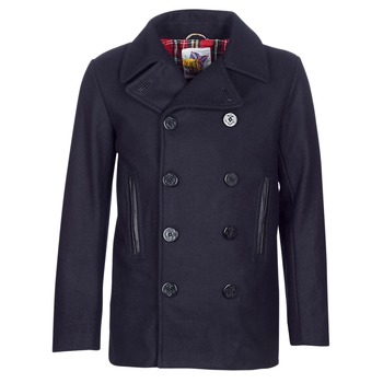 Textiel Heren Mantel jassen Harrington PCOAT Marine