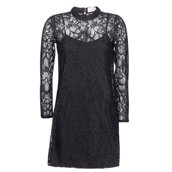 Textiel Dames Korte jurken Molly Bracken ZEDEL Zwart