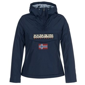 Textiel Dames Parka jassen Napapijri RAINFOREST WINTER Marine