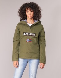 Textiel Dames Parka jassen Napapijri RAINFOREST WINTER Kaki