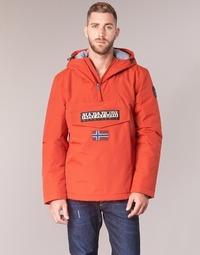 Textiel Heren Parka jassen Napapijri RAINFOREST WINTER Orange