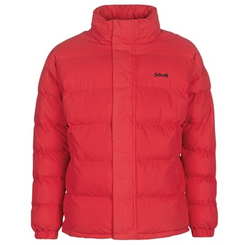 Textiel Dons gevoerde jassen Schott NEBRASKA Rood