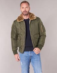Textiel Heren Wind jackets Schott OHARA Kaki