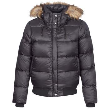 Textiel Dames Dons gevoerde jassen Schott MAYDAY Zwart