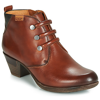 Schoenen Dames Enkellaarzen Pikolinos ROTTERDAM 902 Brown