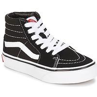 Schoenen Kinderen Hoge sneakers Vans UY SK8-HI Zwart / Wit