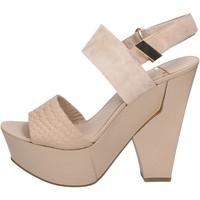 Schoenen Dames Sandalen / Open schoenen Marciano BZ430 Beige